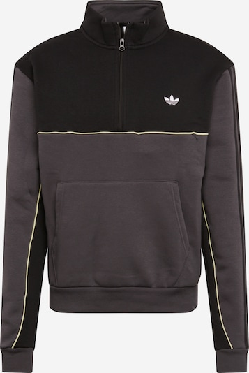 ADIDAS ORIGINALS Sweatshirt Action Sports Lifestyle Pullover in dunkelgrau / schwarz, Produktansicht