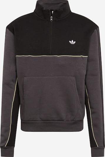ADIDAS ORIGINALS Sweat-shirt en gris foncé / noir, Vue avec produit