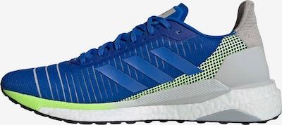 ADIDAS PERFORMANCE Laufschuh 'Solarglide 19' in blau / grau / neongrün / weiß, Produktansicht