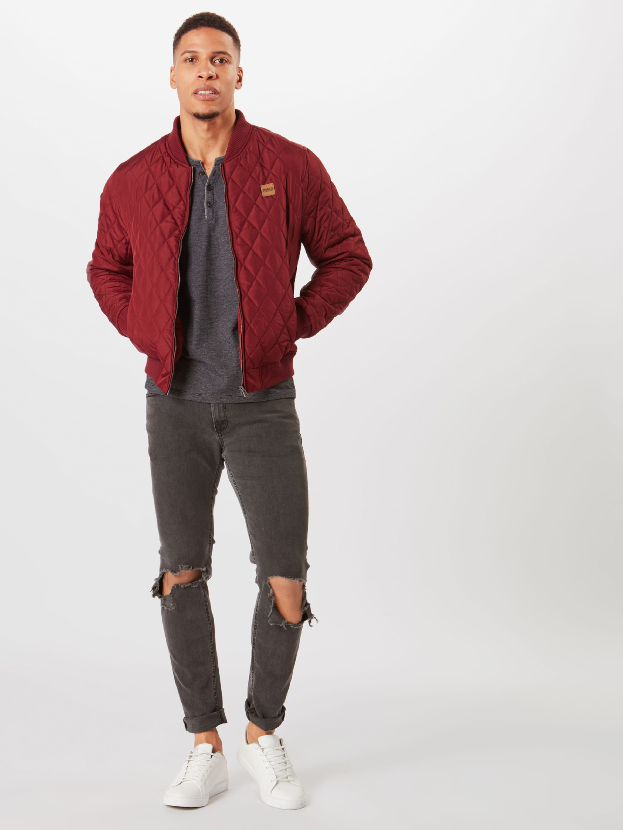 S oliver Shirt Label In Schwarzmeliert Red ULSzpVqGMj