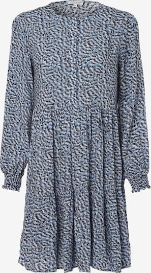 Marie Lund Kleid in blau / schwarz, Produktansicht