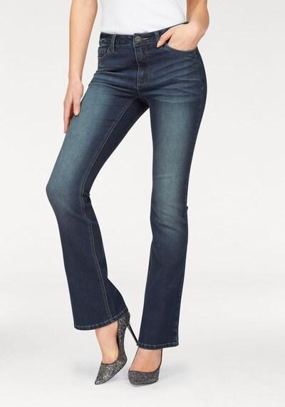 ARIZONA Bootcut-Jeans »Bootcut« in dunkelblau, Produktansicht