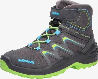 LOWA Boots in de kleur Lichtblauw / Donkergrijs / Limoen, Productweergave