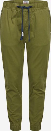 Tommy Jeans Hose 'SCANTON DOBBY' in oliv, Produktansicht