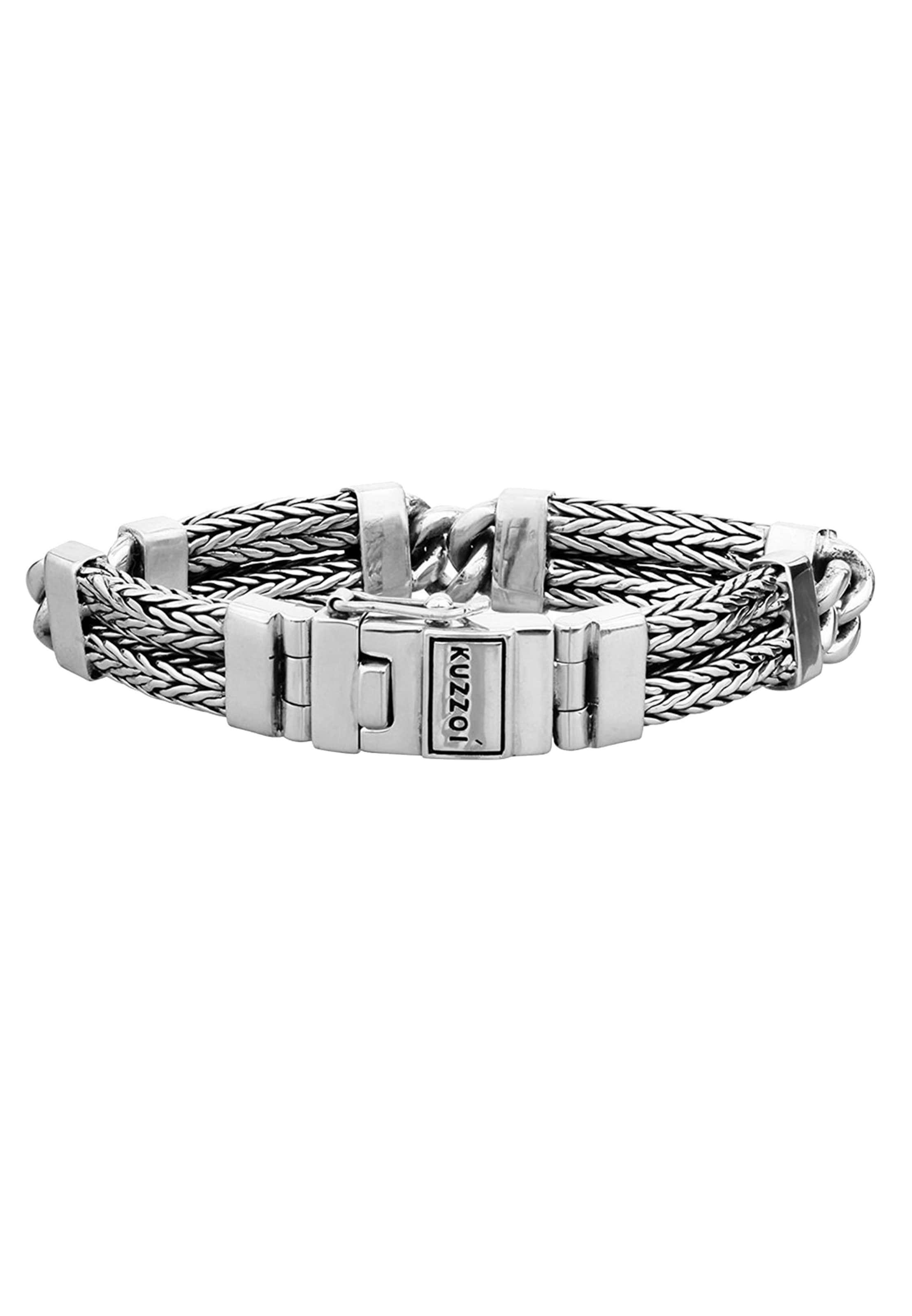 Armband 'basic' Silber Kuzzoi In Silber In Armband Kuzzoi Kuzzoi 'basic' TulK13FJc