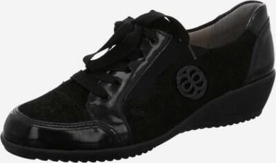 ARA Schnürschuhe in schwarz: Frontalansicht