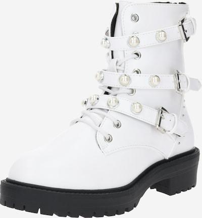 BULLBOXER Boots in schwarz / weiß, Produktansicht