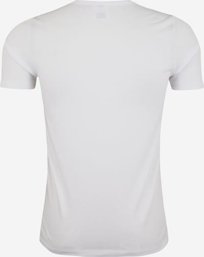 SCHIESSER Unterhemd in weiß: Rückansicht