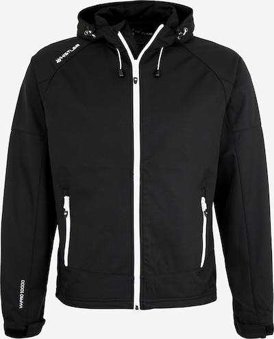 Whistler Softshelljacke 'Evarts' in schwarz / weiß, Produktansicht