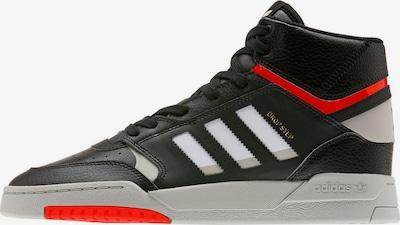 ADIDAS ORIGINALS Sneaker 'Drop Step' in hellgrau / rot / schwarz / weiß, Produktansicht