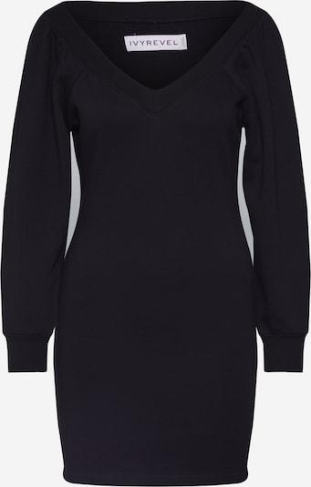 Megzta suknelė iš IVYREVEL , spalva - juoda, Prekių apžvalga