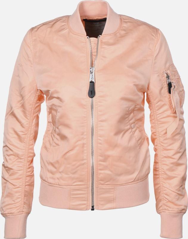 ALPHA INDUSTRIES Bomberjacke in Orange  Markenkleidung für Männer und Frauen