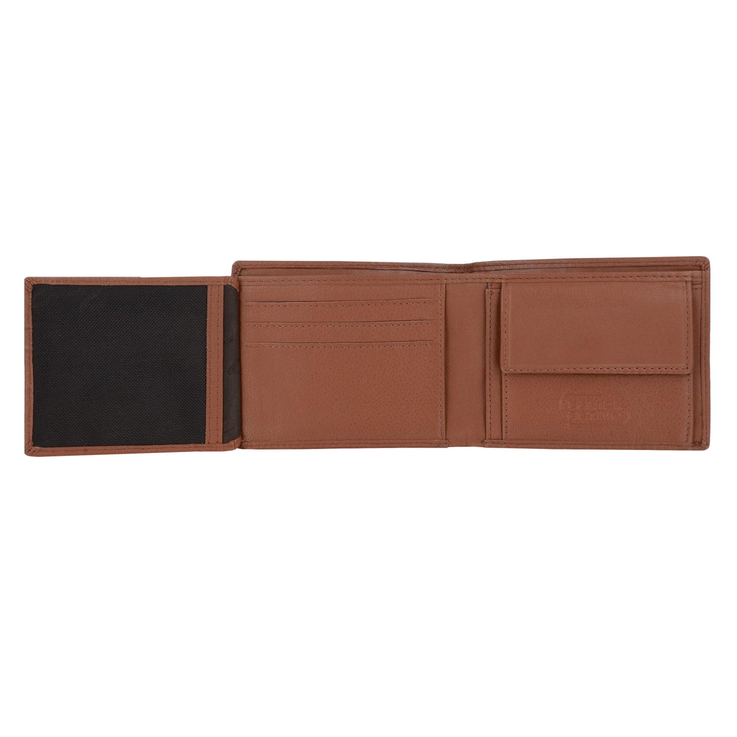 CAMEL ACTIVE 'London' Mini Geldbörse, Leder, 11 cm