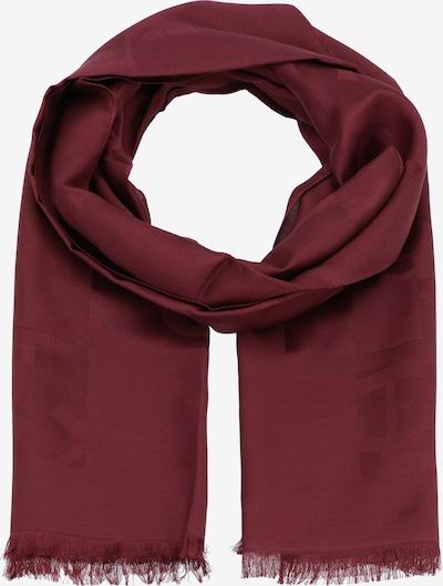 AIGNER Sjaal in de kleur Bourgogne, Productweergave