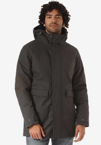 Forvert Manteau d'hiver 'Anc' en marron, Vue avec modèle