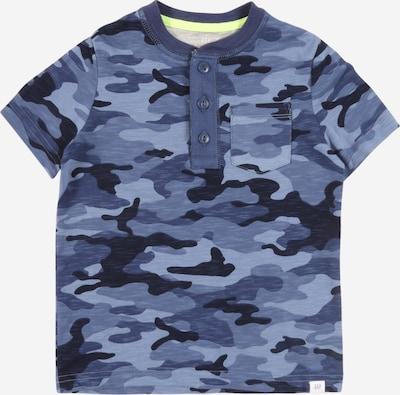 GAP Shirt 'HENLEY' in blau: Frontalansicht