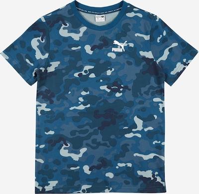 PUMA Sport-Shirt in navy / hellgrau / graumeliert / petrol, Produktansicht