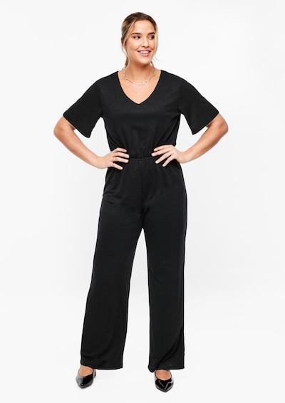 TRIANGLE Overall in schwarz, Modelansicht