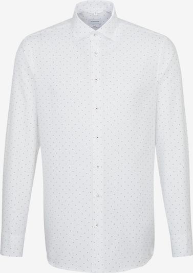 SEIDENSTICKER Poslovna srajca | črna / bela barva, Prikaz izdelka