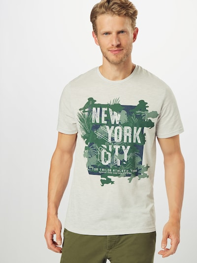 TOM TAILOR T-Shirt en gris: Vue de face