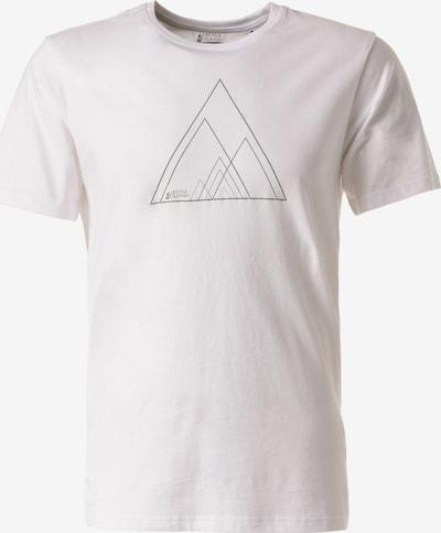 Lakeville Mountain T-Shirt 'Sino' in weiß: Frontalansicht