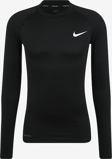 NIKE Functioneel shirt 'M NP TOP LS TIGHT MOCK' in de kleur Zwart, Productweergave