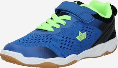 LICO Baskets 'Key' en bleu / marine / citron vert, Vue avec produit