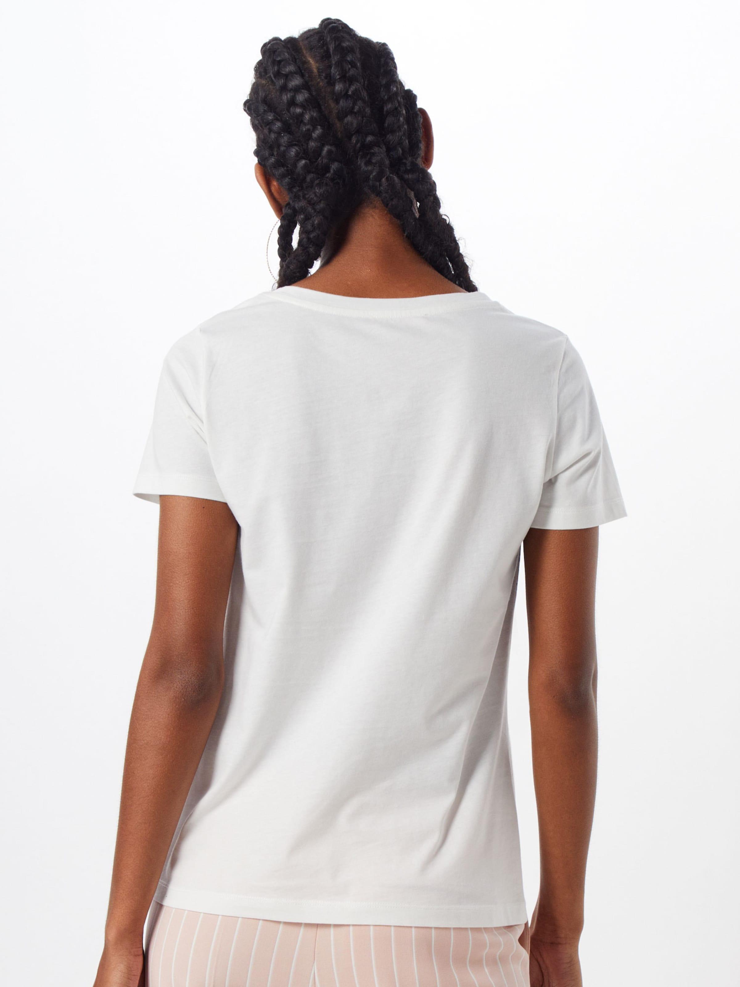 En De shirt CouleursBlanc T Cassé S Label Mélange Red oliver 4ALqcj35R