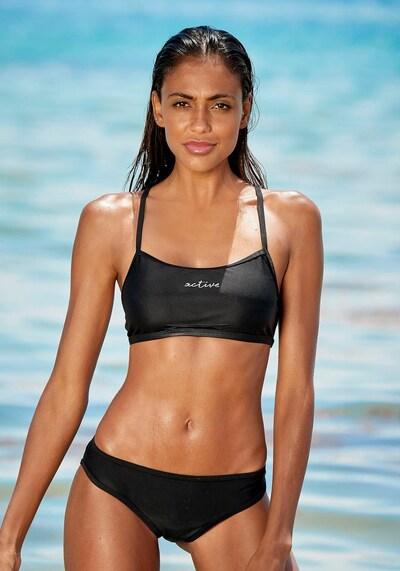 LASCANA ACTIVE Bikini in schwarz / weiß, Modelansicht