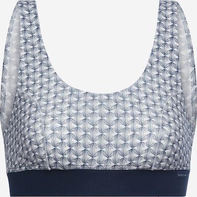 CALIDA Nedrček 'Elastic Trend' | modra / bela barva, Prikaz izdelka