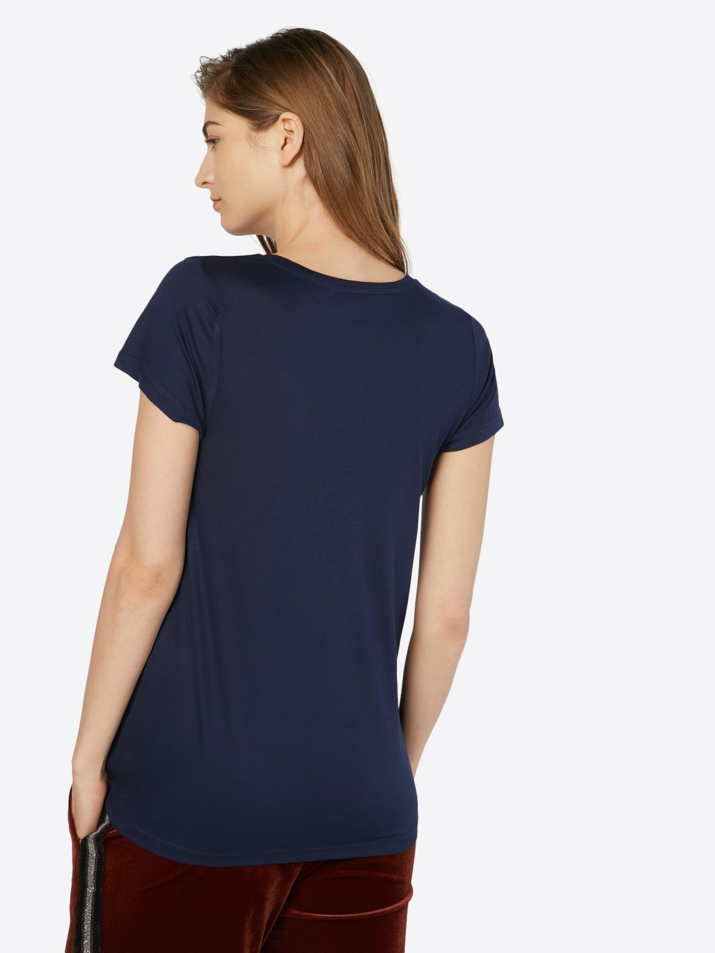 Kaffe T 'anna' shirt In Nachtblau WH9ED2IY