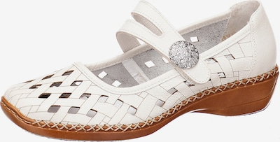 RIEKER Ballerinas in weiß, Produktansicht