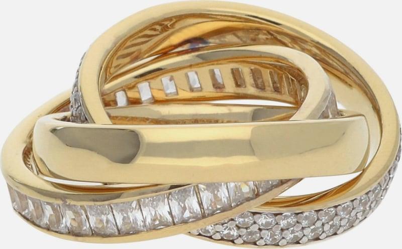 ESPRIT Fingerring Tridelia ELRG92258C aus 925er Sterlingsilber
