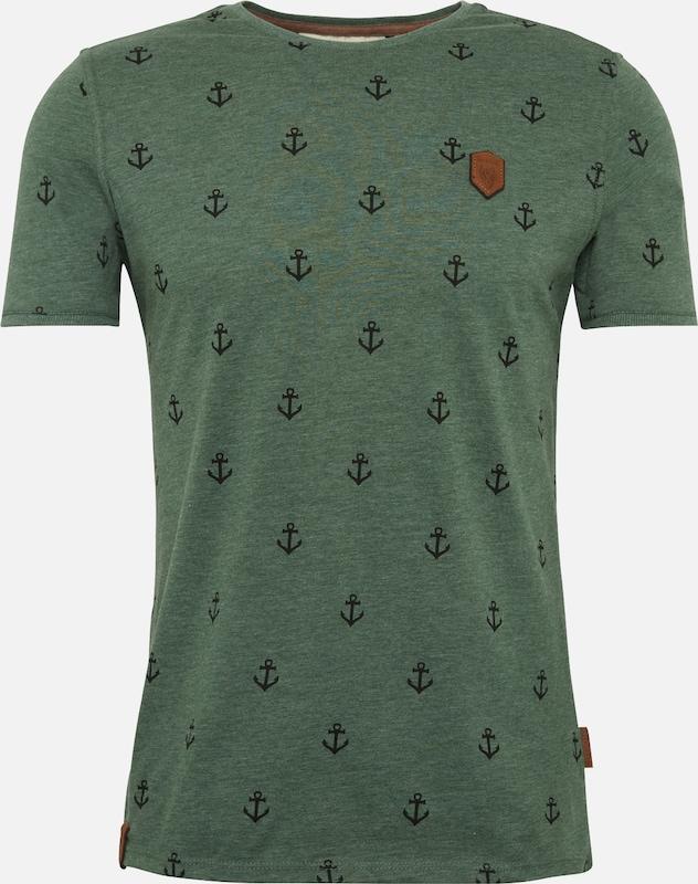 Naketano 'fuck' Vert En T shirt 76gfyb
