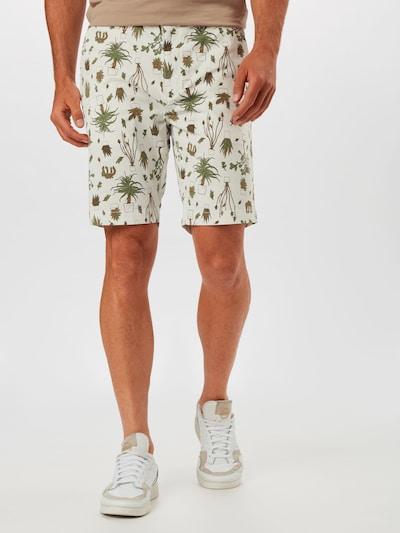 LEVI'S Chino kalhoty 'STD TPR CHINO SHORT II' - hnědá / olivová / offwhite, Model/ka