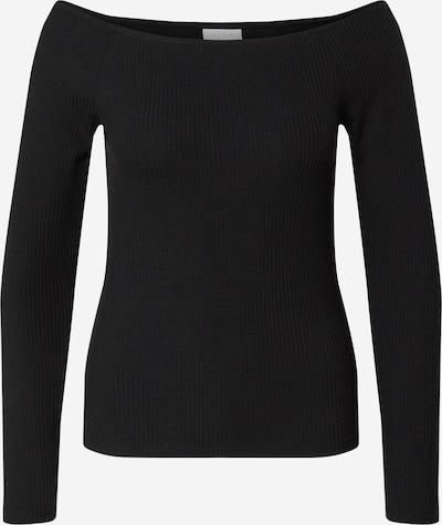 VILA T-Krekls 'EDEL' pieejami melns, Preces skats