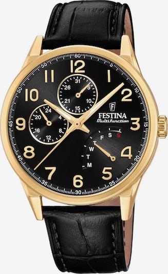 FESTINA Uhr 'F20279/C' in gold / schwarz, Produktansicht