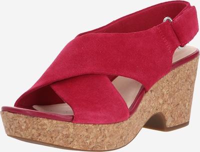CLARKS Sandale 'Maritsa lara' in fuchsia, Produktansicht