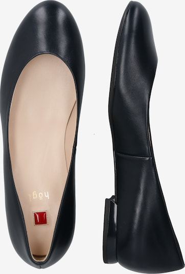Högl Ballet Flats in Navy: Side view