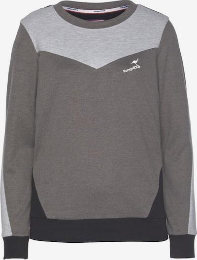 KangaROOS Sweater in anthrazit / hellgrau / schwarz, Produktansicht