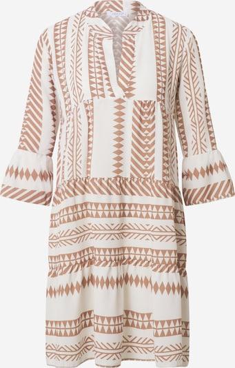 Hailys Obleka 'Lola'   svetlo rjava / bela barva: Frontalni pogled