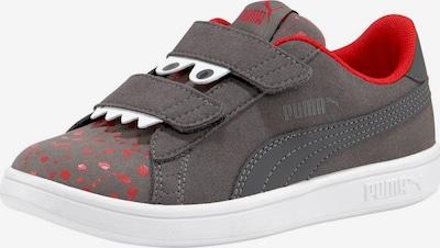 PUMA Sneaker 'Smash v2 Monster V Inf' in dunkelgrau / rot / weiß, Produktansicht
