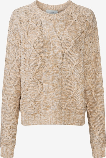 Moves Pullover 'julin 1402' in beige, Produktansicht
