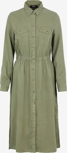 PIECES Blusenkleid 'PCNOLA' in oliv, Produktansicht
