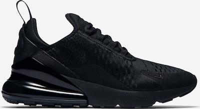 Sneaker low Nike Sportswear pe negru: Privire laterală