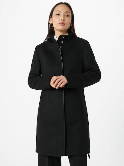 HUGO Přechodný kabát 'Malura' - černá: Pohled zepředu