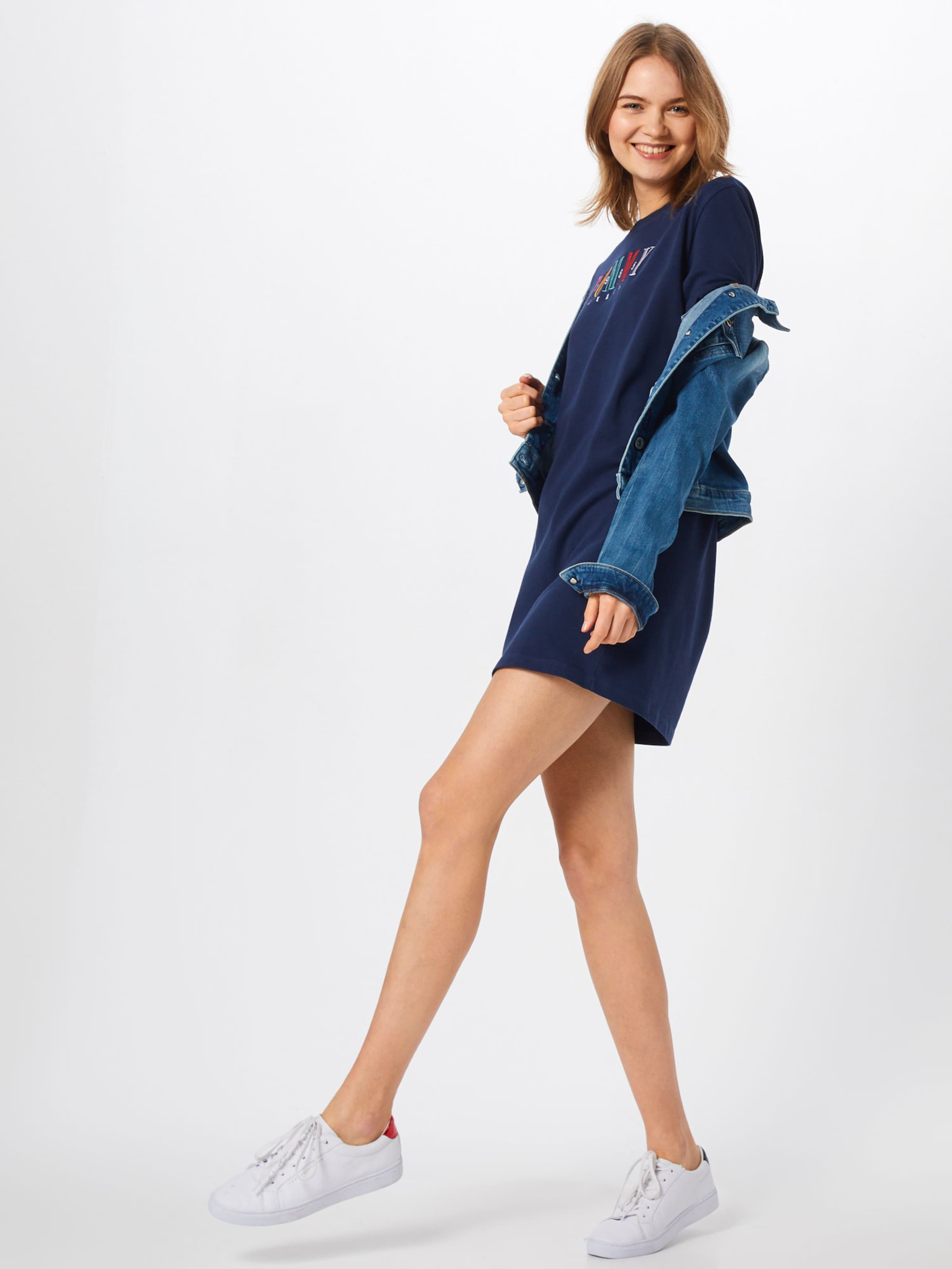 Kleid In In Kleid Tommy Tommy NavyMischfarben Jeans Jeans NavyMischfarben Tommy gI6fm7yvbY