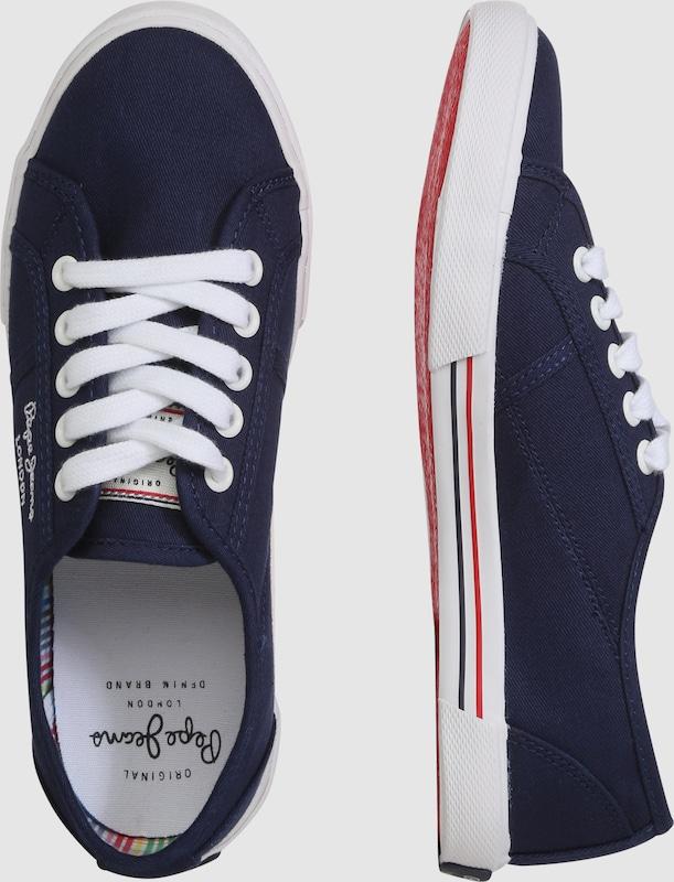 Pepe Jeans Sneaker in Canvas-Optik