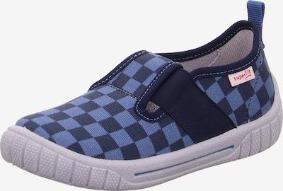 SUPERFIT Hausschuh 'Bill' in blau / dunkelblau, Produktansicht