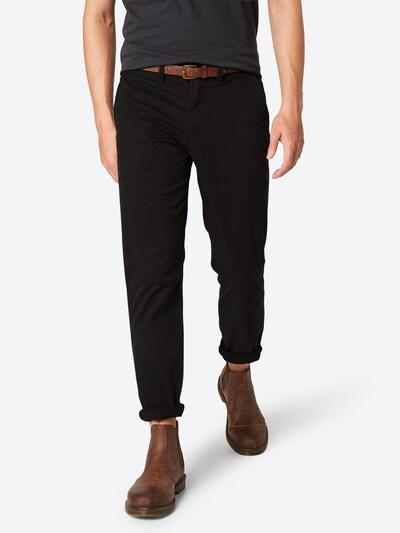 JACK & JONES Chino 'Cody Jjspencer' in de kleur Zwart, Modelweergave
